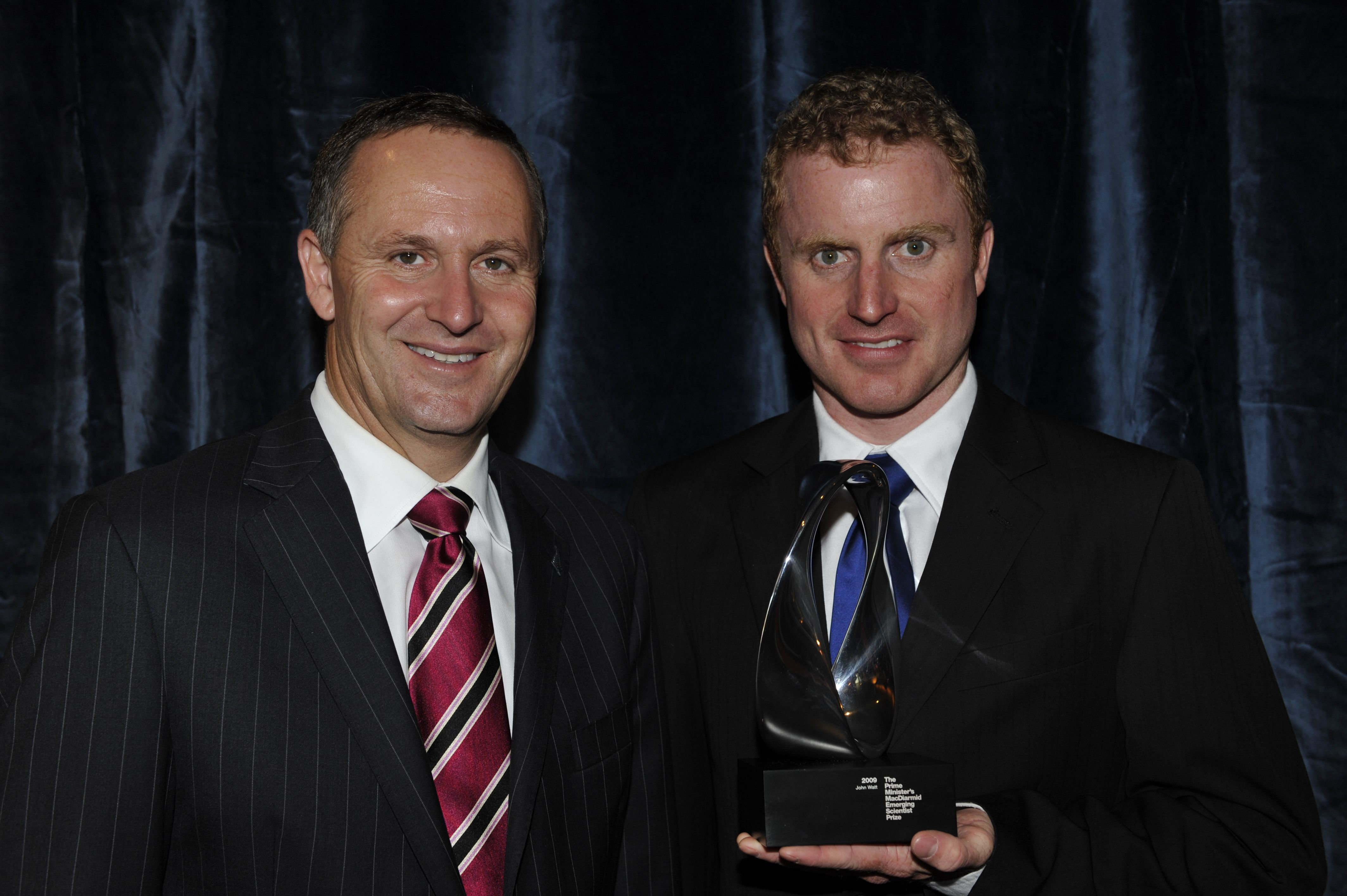 Image: Prime Minister's MacDiarmid Emerging Scientist Prize 2009