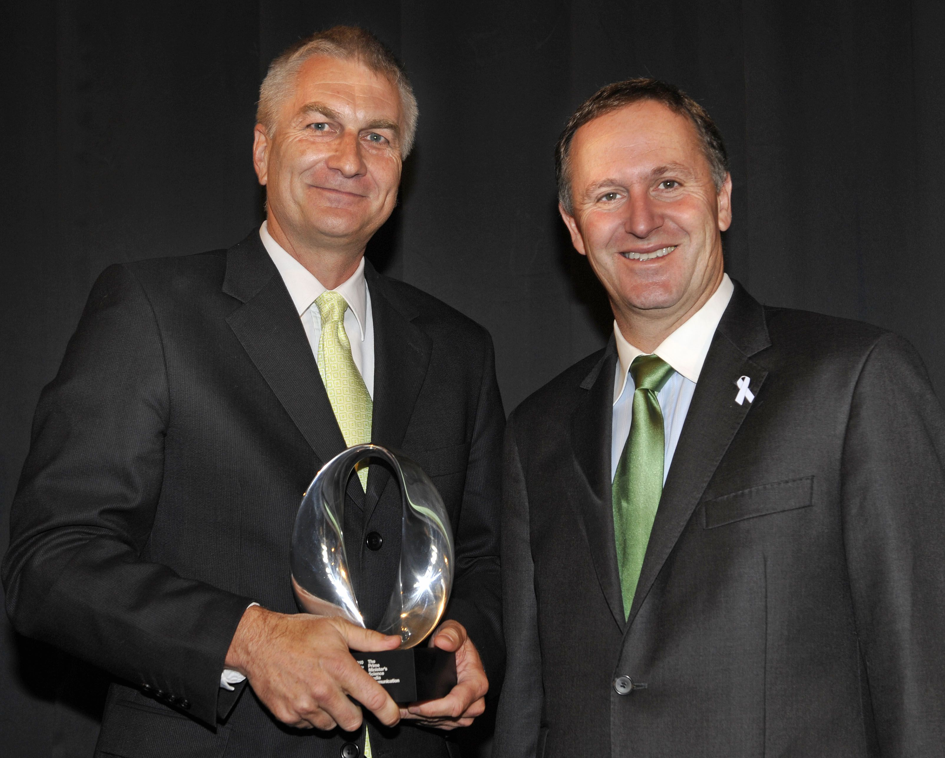 Image: The Prime Minister's Science Media Communication Prize 2010