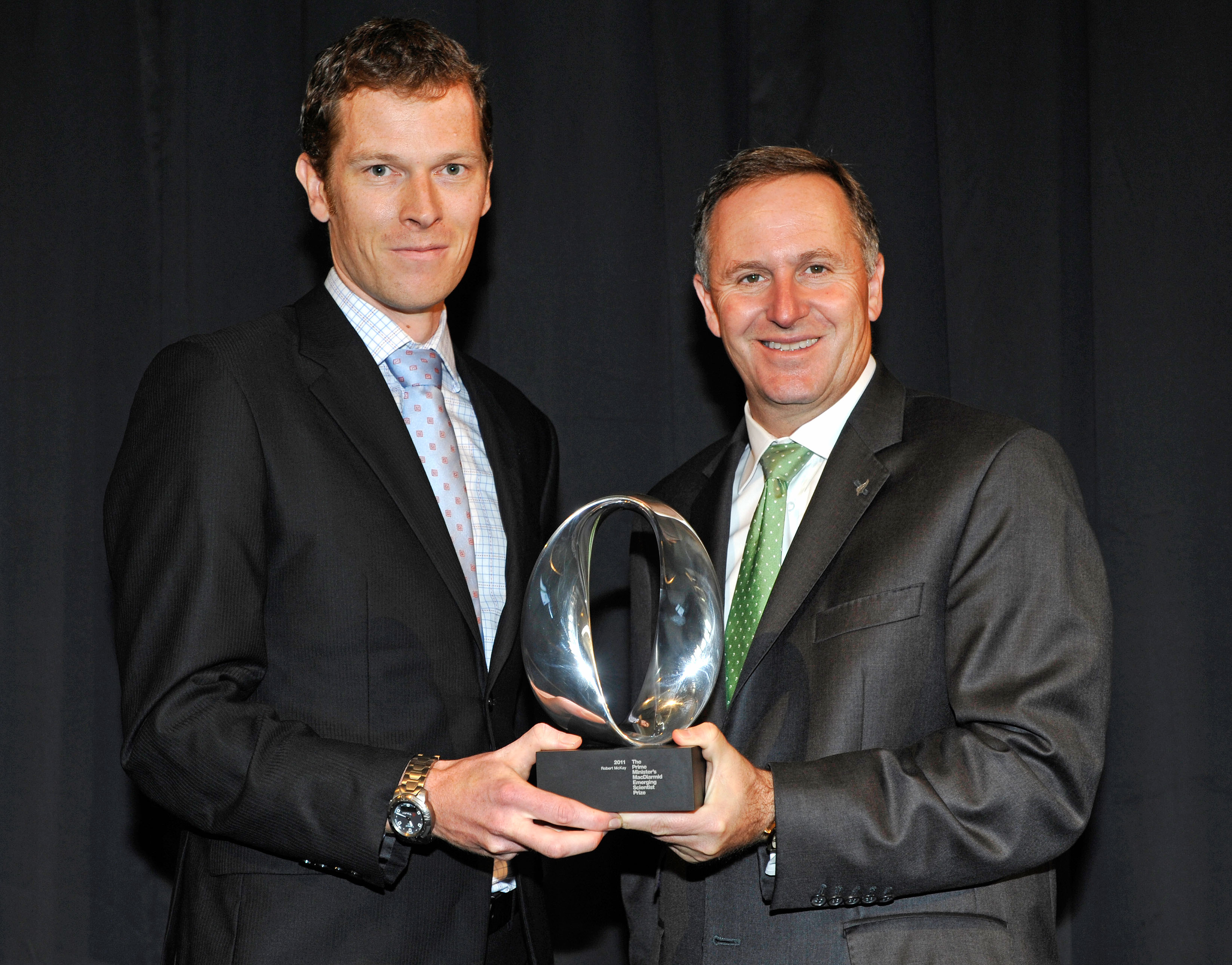 Image: The Prime Minister's MacDiarmid Emerging Scientist Prize 2011