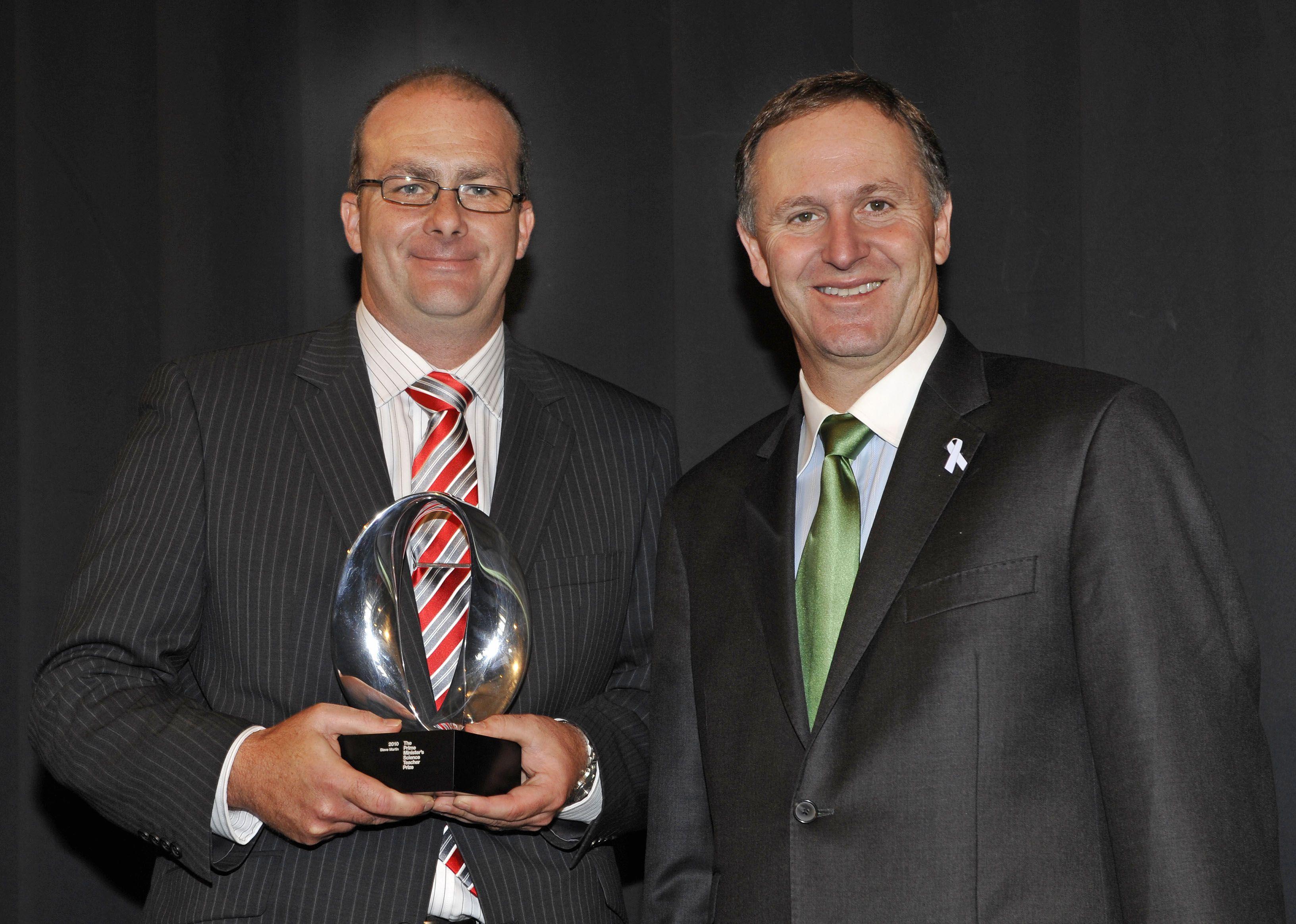 Image: The Prime Minister's Science Teacher Prize 2010