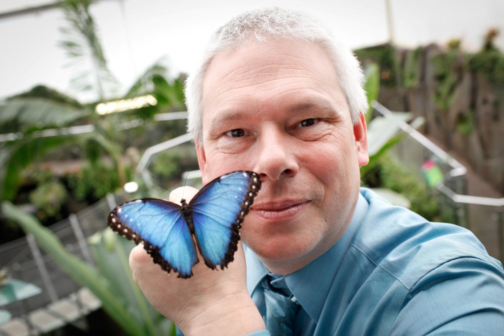 Ian with butterfly (Large)